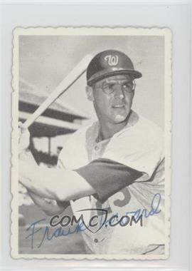 1969 Topps - Deckle Edge #16 - Frank Howard