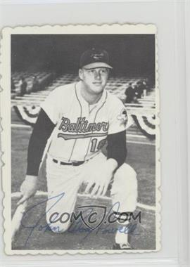 1969 Topps - Deckle Edge #2 - Boog Powell
