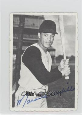 1969 Topps - Deckle Edge #24 - Maury Wills