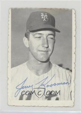 1969 Topps - Deckle Edge #25 - Jerry Koosman [Poor]