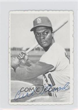 1969 Topps - Deckle Edge #28 - Curt Flood
