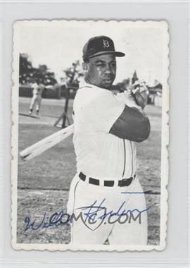 1969 Topps - Deckle Edge #9 - Willie Horton