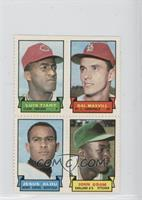 Luis Tiant, Dal Maxvill, Jesus Alou, John Odom, Moe Drabowsky, Larry Brown, Ric…
