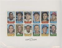 Tommie Agee, Bob Rodgers, Mickey Mantle, Jerry May, Dean Chance, Cookie Rojas, …