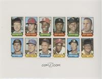 Moe Drabowski, Larry Brown, Lou Brock, Roy White, Tommy John, Phil Regan, Rick …