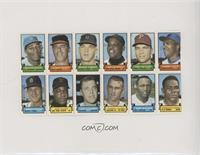 Willie Davis, George Brunet, Mickey Stanley, Willie Mays, John Callison, Tommy …