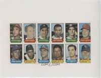 Clay Dalrymple, Brooks Robinson, Jim French, Gerry Arrigo, Tony Oliva, Willie S…