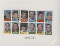 Bud Harrelson, Gary Peters, Milt Pappas, Mike Epstein, Bob Bolin, Rod Carew, Wi…