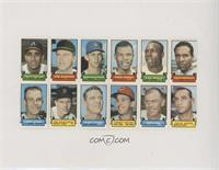 Felix Millan, Jim Hunter, Don Sutton, Tommy Harper, Lee Maye, Zoilo Versalles, …