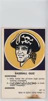 Pittsburgh Pirates [PoortoFair]