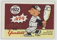 1922 World Series [GoodtoVG‑EX]
