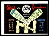 1928 World Series [VG]