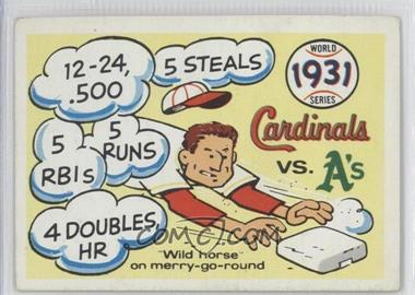 1970 Fleer Laughlin World Series - [Base] #28 - 1931 World Series [GoodtoVG‑EX]