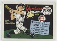 1938 World Series [Good to VG‑EX]