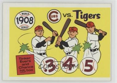 1970 Fleer Laughlin World Series - [Base] #5 - 1908 World Series
