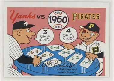 1970 Fleer Laughlin World Series - [Base] #57 - 1960 World Series