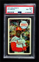 Lou Brock [PSA 8 NM‑MT]