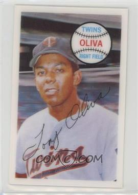1970 Kellogg's 3-D Super Stars - [Base] #63 - Tony Oliva