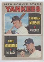 1970 Rookie Stars (Thurman Munson, Dave McDonald) [PoortoFair]