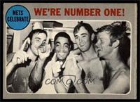 New York Mets Team, Tommie Agee, Nolan Ryan, Wayne Garrett, Ken Boswell [GOOD]