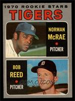 Tigers Rookie Stars (Norm McRae, Bob Reed) [NM]