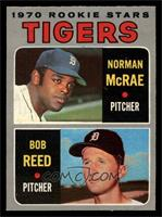 Tigers Rookie Stars (Norm McRae, Bob Reed) [EXMT]