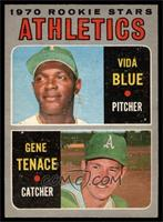 Athletics Rookie Stars (Vida Blue, Gene Tenace) [EX MT]