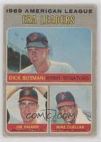 Dick Bosman, Jim Palmer, Mike Cuellar [PoortoFair]