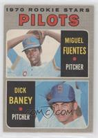 Pilots Rookie Stars (Miguel Fuentes, Dick Baney) [Poor to Fair]