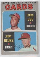 Cardinals Rookie Stars (Leron Lee, Jerry Reuss)