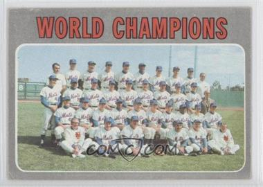 1970 Topps - [Base] #1 - World Champions (New York Mets)