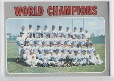 1970 Topps - [Base] #1 - World Champions (New York Mets)
