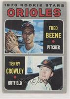 Terry Crowley, Fred Beene [GoodtoVG‑EX]