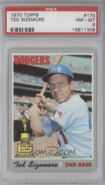 1970 Topps - [Base] #174 - Ted Sizemore [PSA8]