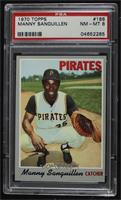 Manny Sanguillen [PSA 8 NM‑MT]