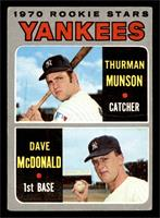 1970 Rookie Stars (Thurman Munson, Dave McDonald) [GOOD]