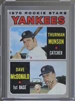 1970 Rookie Stars - Thurman Munson, Dave McDonald [NoneGoodto…