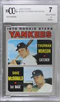 1970 Rookie Stars - Thurman Munson, Dave McDonald [BCCGVeryGood]