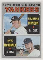 Thurman Munson, Dave McDonald