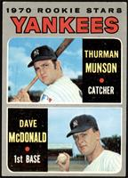 Thurman Munson, Dave McDonald [VG+]
