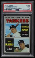 Thurman Munson, Dave McDonald [PSA 7 NM]