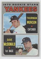 Thurman Munson, Dave McDonald