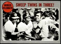 Orioles Celebrate - Sweep Twins In Three! [GOOD]