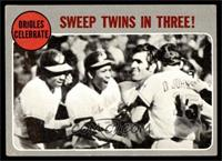 Orioles Celebrate - Sweep Twins In Three! [VG]