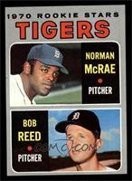 Tigers Rookie Stars (Norm McRae, Bob Reed) [NMMT]