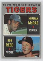 Tigers Rookie Stars (Norm McRae, Bob Reed) [Good to VG‑EX]