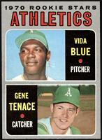 1970 Rookie Stars - Vida Blue, Gene Tenace [NM MT]