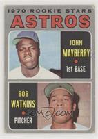John Mayberry, Bob Watkins