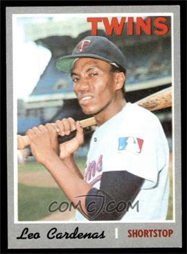 1970 Topps - [Base] #245 - Leo Cardenas [EXMT]