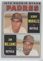 Jerry Morales, Jim Williams